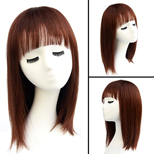 Haircube Natural 16 Quot Medium Length Straight Bob Wigs With