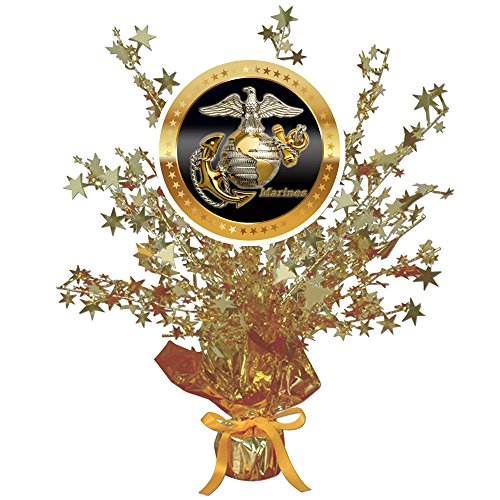 Partypro US MARINES MEDALLION CENTERPIECE (EACH) by from Partypro
