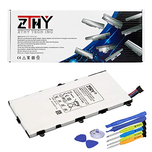 PC Hardware : ZTHY Compatible T4000E Tablet PC Battery Replacement for Samsung Galaxy Tab 3 7.0 SM-T210R T210 T211 T217 T4000E kids T2105 T2105 P3200 1588-7285 3.7V 4000mAh With tools