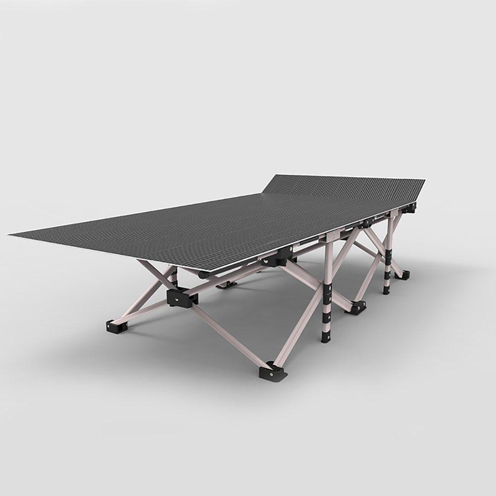 折り畳み式昼食休憩ベッドポータブルナッピングチェア屋外ラウンジチェア夏多機能シンプルなレイジーシエスタベッド B07D47RJCN  Style 2