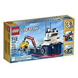 Creator LEGO 213 Pcs Ocean Explorer 3-in-1 Brick Box Building Toys by LEGO