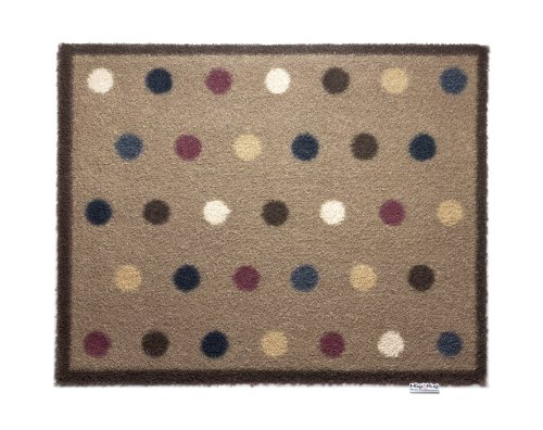 (Bosmere Hug Rug Eco-Friendly Absorbent Dirt Trapping Indoor Washable Mat, 25.5