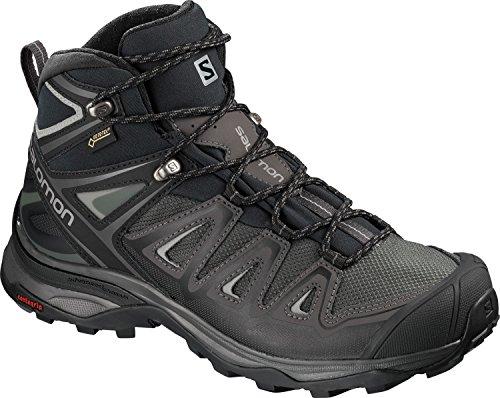 Chaussures Salomon Randonnée Gris Femme 3 W Gtx X noir Ultra Mid rrU04qY