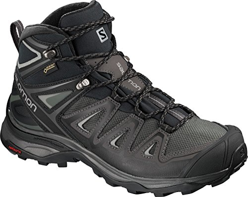 Mid Salomon noir X Ultra Randonnée Chaussures 3 gris GTX Femme W TwUxnw