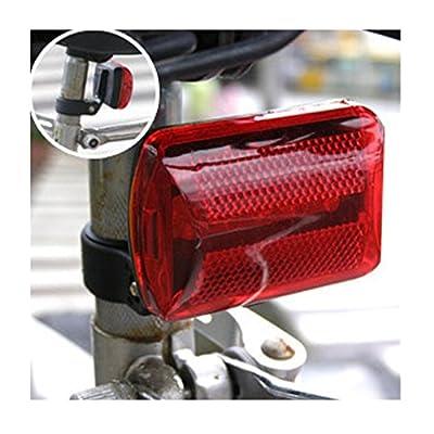Iuhan Fashion Bicycle 5LED Bicycle Taillights Warning Lights