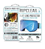 RIPCLEAR Anon M3/MFI Snow Goggle Lens Protector Kit - Scratch-Resistant, Crystal Clear - 3-Pack