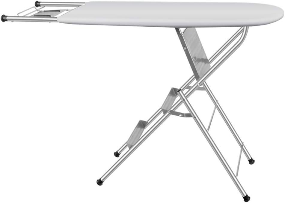 FeiGuoQiang Tabla de planchar, tabla de planchar con escalera tabla de planchar plegable for el hogar tabla de planchar eléctrica de alto grado estante de planchar de doble uso mesa de planchar