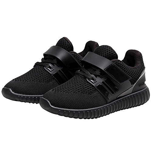 Women Unisex Adults Mesh Velcro Boys Sneakers Black Up Jamron Summer Girls Lace Gym Breathable Sport Shoes Shoes Running Lightweight twxYdqnnT