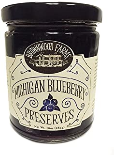 product image for Michigan Blueberry Preserves by Brownwood Farms (10 ounce)