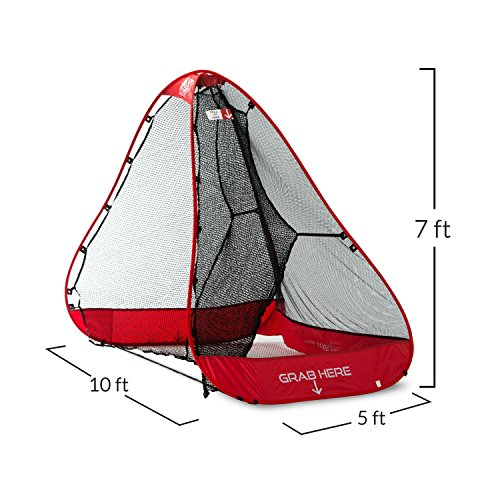 Rukket 10x7ft Pop Up Golf Net | Orginal Rukknet | Practice Driving Indoor and Outdoor | Backyard Swing Training Aids by Rukket Sports (Image #3)