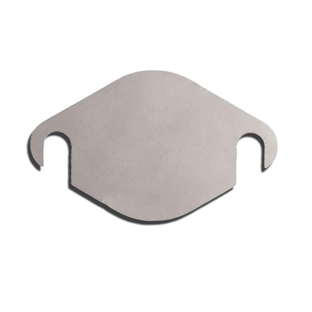 YANGCAN 2004.5-2005 LLY Blocker Kit EGR Block Off Plate DURAMAX Diesel Stainless Steel