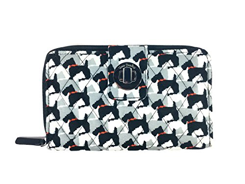 Vera Bradley Turnlock Wallet (Scottie Dogs)