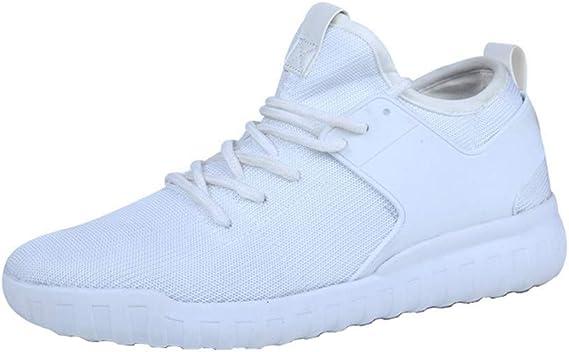 Zapatillas de Mujer de BaZhaHei, Zapatos de Moda Transpirable para Hombres de Las Mujeres Zapatillas de Deporte Tejidas Parejas de Modelos de Parejas de Hombres y Mujeres Zapatos de Viaje Zapatos: Amazon.es: