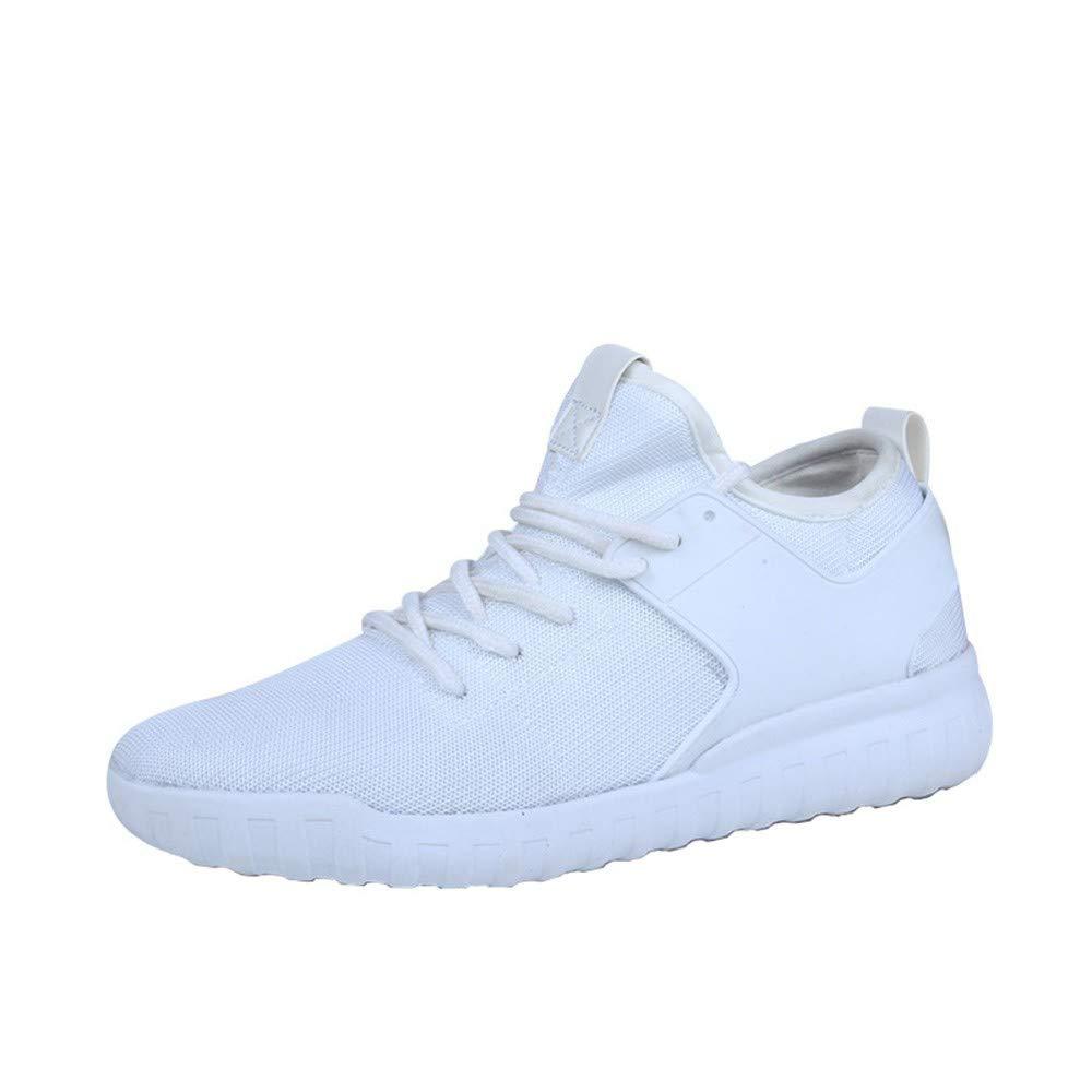 Zapatillas de Mujer de BaZhaHei, Zapatos de Moda Transpirable para Hombres de Las Mujeres Zapatillas de Deporte Tejidas Parejas de Modelos de Parejas de ...