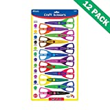 Craft Paper Scissors, Design Small Kids Crafts Scissors (12/pack) - Pack Of 12