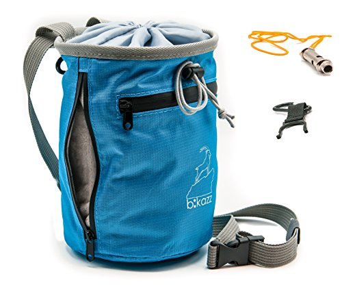 b:kazz - Chalk Bag with Adjustable Belt - Perfect for Rock Climbing
