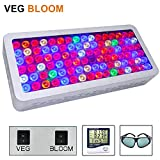 LED Grow Light 1000W, Full Spectrum Grow Lights for Indoor Plants with Veg