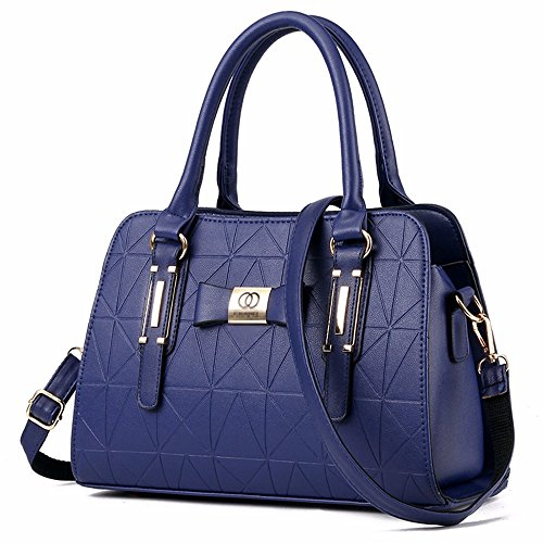 Mano CCZUIML Bag Mujer de azul para Red Crossbody Bolso Rose wATwFUf