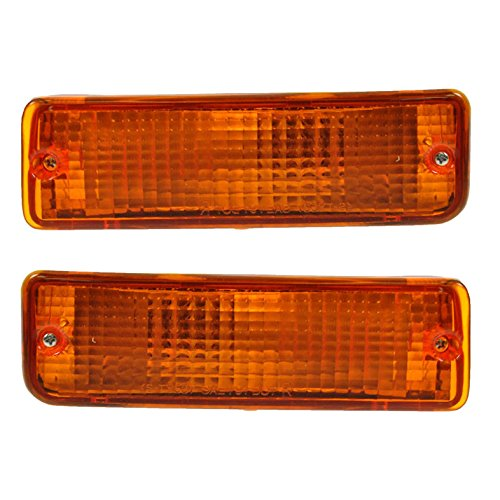 l Parking Light Pair Set for 93-98 Toyota T100 ()
