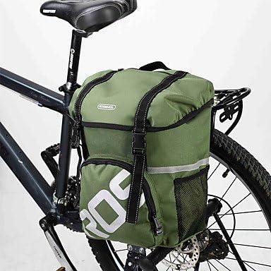 ROSWHEEL – Bolsa para porta-bultos de bicicleta cola trasera bolsa ...