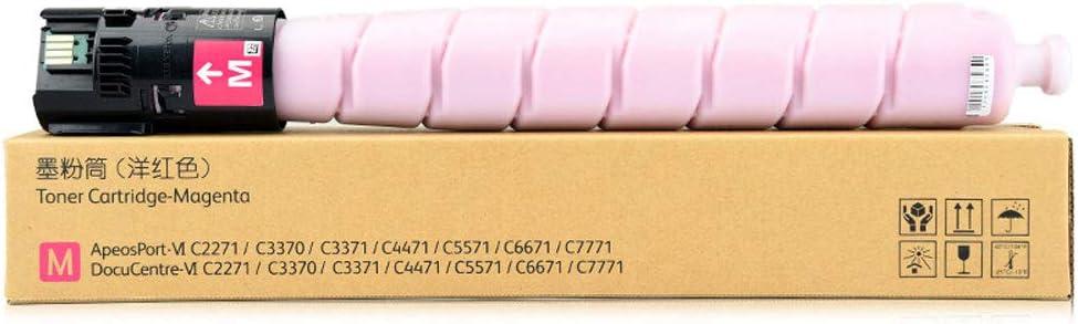 Applicable C3371 Powder Box C2271 C3370 C4471 C5571 C6671 C7771 Ink Cartridge Color Laser Printer Office Supplies-Black