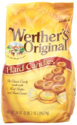 Werther's Original Hard, 34.0-Ounce Bags (Pack of 2) by Werther's ()