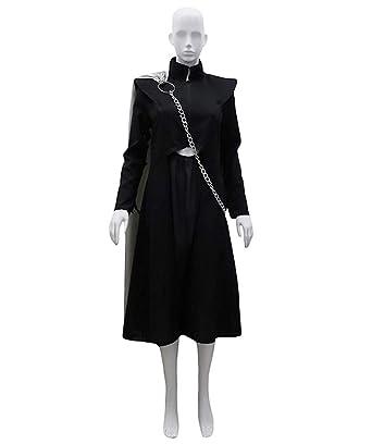9ca115f0a62 Amazon.com: Game of Thrones Dragon Queen Costume, Black Adult HC-732 ...