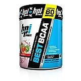 BPI Best BCAA Powder, Fruit Punch, 60 Count Net WT 1.32 LBS(600 g)