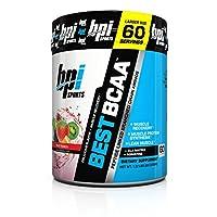 BPI Sports Best BCAA en polvo, aminoácidos de cadena ramificada, ponche de frutas, 60 porciones, 1.32 libras