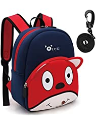 OFUN Toddler Backpack with Leash, Safety Harness Backpack for Toddlers Boys, Puppy Dog