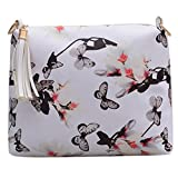 Best Donalworld Messenger Bags - Donalworld Women Bag Fringe Messenger Bag PU Leather Review