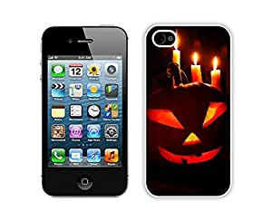 Personalize offerings Halloween scary White iPhone 4 4S Case 1