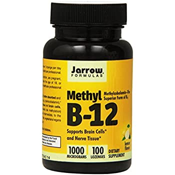Jarrow Formulas - Methyl B-12 1000 mcg. - 100 Lozenges