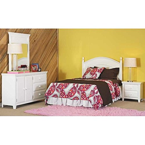 [Powell Furniture Wendy Full Bed in a Box] (Powell Linen Cabinet)