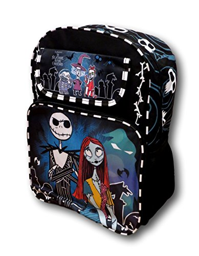 "Disney Tim Burton's The Nightmare Before Christmas 16"" Large Backpack"