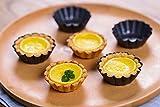 Bakerdream Mini Round Nonstick Tart Pan, Tartlet