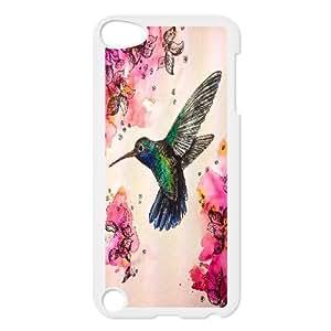 Hummer Bird Hard Skin Pattern Back Phone Case Potector for Ipod Touch Case 5 TSL318441