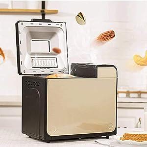 FACAI Bread Maker Machines, Bread Makers Machines Automatic Breadmakers Dough Kneading Yogurt Breakfast Machine Multifunctional Intelligent for Baking Home DIY