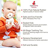 caaocho Pure Natural Rubber Baby Teether Toy - Mia