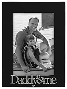 Malden Daddy and Me Expressions Frame, 4 by 6-Inch