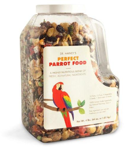Dr. Harvey's Perfect Blend Natural Food for Large Parrots, 5-Pound Bag, My Pet Supplies