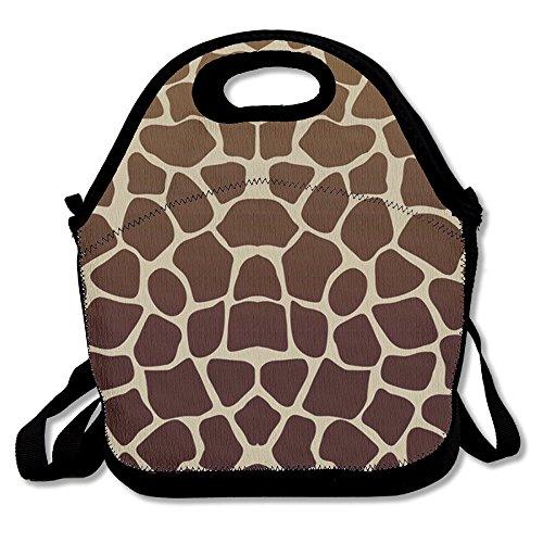 Giraffe Print Fashion Tote - 2
