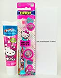 Best HELLO KITTY Travel Toothbrushes - Crest Hello Kitty Bubble Gum Flavored Toothpaste, FireFly Review