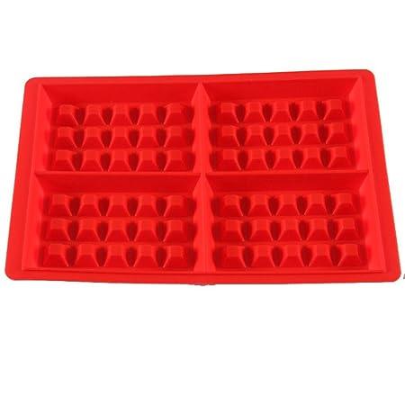 4 Cavidad Molde (silicona, antiadherente, fácil de limpiar, para ...