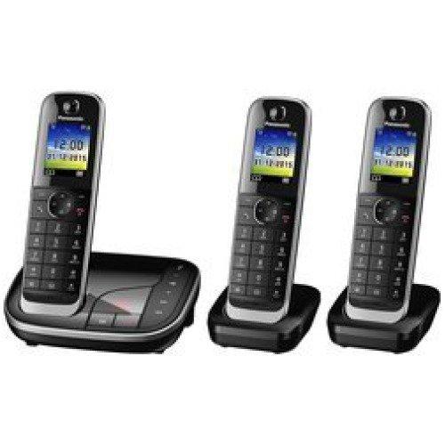 Panasonic KX-TGJ323GB Schnurlostelefon mit Anrufbeantworter (DECT)