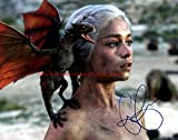 #5: Game of thrones Emilia Clarke Autographed 8x10 Glossy Photo