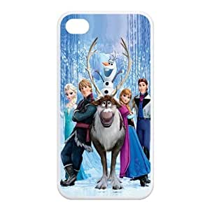 5s Case, iPhone 5s Case - Fashion Style New Cartoon Frozen Painted Pattern TPU Soft Cover Case for iPhone iphone 5s(Black/white)