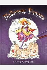 Halloween Faeries Coloring Book Paperback