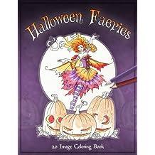 Halloween Faeries Coloring Book