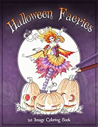 Halloween Faeries Coloring Book